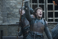 Alfie Allen as Theon Greyjoy in GAME OF THRONES