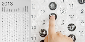 Quirky Item of the Week: Bubble Wrap Calendar