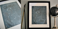 DIY What's Your Sign Constellation Art by Hello Paper Moon