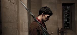 Colin Morgan as Merlin in MERLIN (Image Credit: http://www.bbc.co.uk)