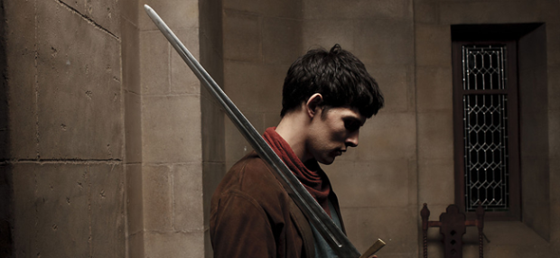 Colin Morgan as Merlin in MERLIN (Image Credit: http://www.bbc.co.uk)