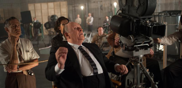 "Anthony Hopkins as ""Alfred Hitchcock"" on the set of HITCHCOCK (Image Credit: Suzanne Tenner/FOX)"