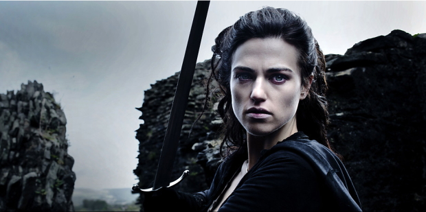 Katie McGrath as Morgana in Merlin (Image Credit: http://www.bbc.co.uk)