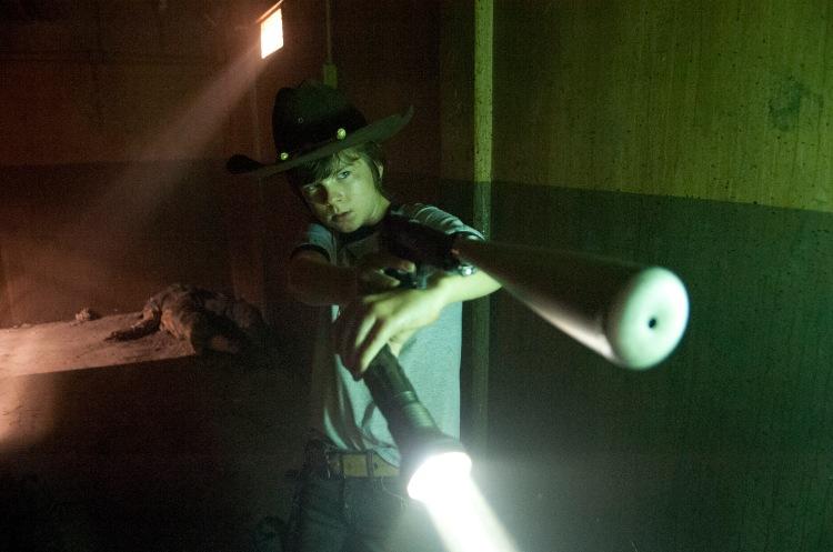 Carl Grimes - Chandler Riggs (Image Credit: Gene Page/AMC)