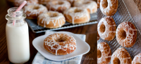 Baked Lemon Donuts Recipe by Barbara Bakes