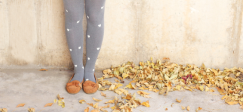 DIY Heart Tights (Image Credit: Lemon Jitters)