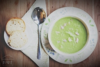 Pea and Ham Soup by Jenny of BAKE