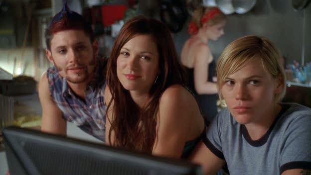Jensen Ackles, Danneel Ackles, and Clea DuVall in TEN INCH HERO