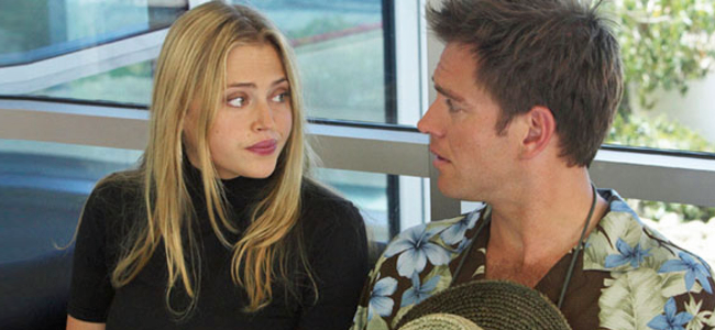 Estella Warren and Michael Weatherly in HER MINOR THING