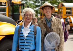 Osric Chau and Thomas Mann in FUN SIZE