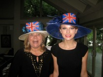 Andrea Finlay and Taylor Swift