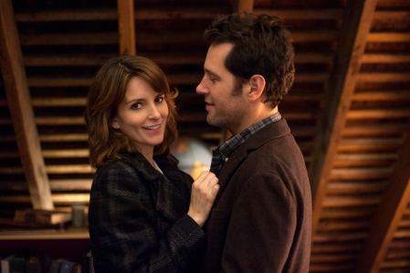 Tina Fey as Portia Nathan and Paul Rudd as John Pressman in ADMISSION (Image Credit: David Lee / Focus Features)