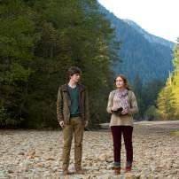 Freddie Highmore as Norman Bates and Olivia Cooke as Emma Decody in BATES MOTEL (Image Credit: Joe Lederer Copyright 2011)