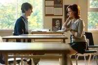 Freddie Highmore as Norman Bates and Keegan Connor Tracy as Ms. Watson in BATES MOTEL (Image Credit: Joe Lederer Copyright 2011)