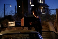 Freddie Highmore as Norman Bates in BATES MOTEL (Image Credit: Joe Lederer Copyright 2011)