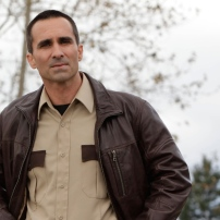 Nestor Carbonell as Sheriff Alex Romero in BATES MOTEL (Image Credit: Joe Lederer Copyright 2011)