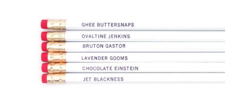 Burton Guster Pencils