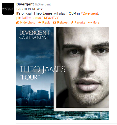 Theo James (Image Credit: @divergent Twitter)
