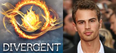 Divergent (Image Credit: Veronica Roth) / Theo James (Image Credit: Crestock)
