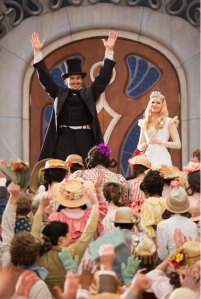 James Franco and Michelle Williams in OZ THE GREAT AND POWERFUL