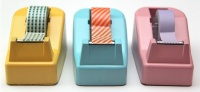 DIY Tape Dispenser Makeover (Image Credit: http://smashedpeasandcarrots.blogspot.com)