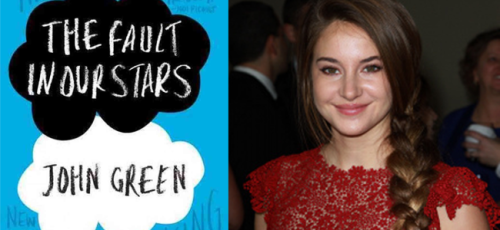 The Fault in Our Stars (Image Credit: John Green) / Shailene Woodley (Image Credit: Crestock)