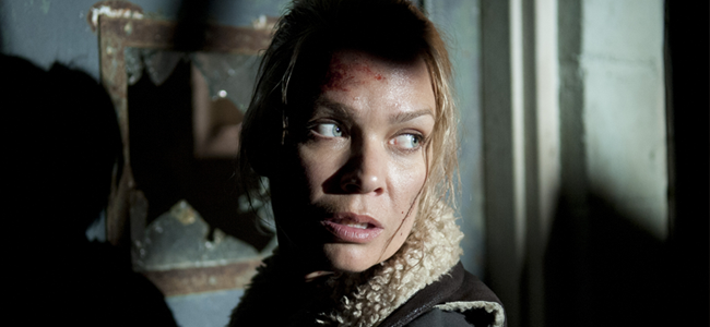 Laurie Holden as Andrea in THE WALKING DEAD