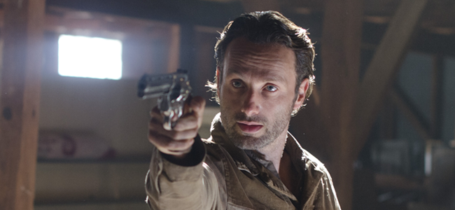 Andrew Lincoln as Rick Grimes in THE WALKING DEAD