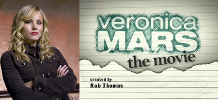 Kristen Bell as Veronica Mars (Image Credit: Warner Bros) / Veronica Mars Movie (Image Credit: Veronica Mars Movie Kickstarter)