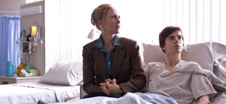 Vera Farmiga as Norma Bates and Freddie Highmore as Norman Bates in BATES MOTEL (Image Credit: A&E)