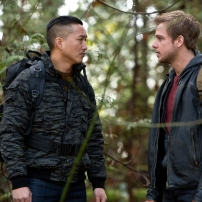 Terry Chen as Ethan Chang and Max Thieriot as Dylan Massett in BATES MOTEL (Image Credit: Joseph Lederer)