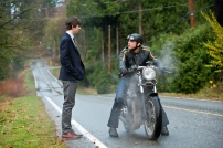 Freddie Highmore as Norman Bates and Max Thieriot as Dylan Massett in BATES MOTEL (Image Credit: Joseph Lederer)