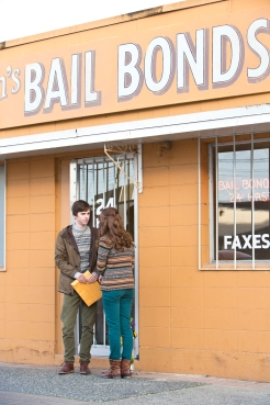 Freddie Highmore as Norman Bates and Olivia Cooke as Emma Decody in BATES MOTEL (Image Credit: Joseph Lederer)