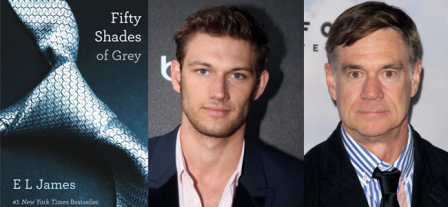 Fifty Shades of Grey (Image Credit: EL James) / Alex Pettyfer (Image Credit: Crestock) / Gus Van Sant (Image Credit: Crestock)