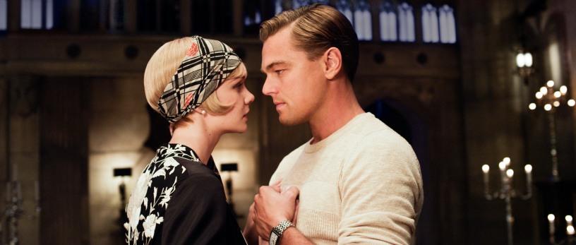 Carey Mulligan as Daisy Buchanan and Leonardo DiCaprio as Jay Gatsby in THE GREAT GATSBY (Image Credit: Warner Bros.)