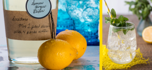 Recipe: Lemon Ginger Elixir and the Double D Cocktail by The Kitchen Witch