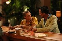 Dinkins (Patrick Mapel) and Don Draper (Jon Hamm) - Mad Men (Photo Credit: Michael Yarish/AMC)