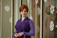 Joan Harris (Christina Hendricks) - Mad Men (Photo Credit: Michael Yarish/AMC)