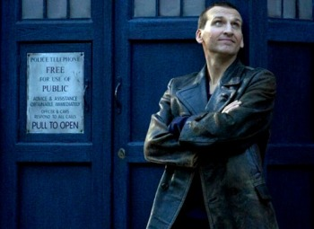 Christopher Eccleston as The Doctor in DOCTOR WHO (Image Credit: BBC)