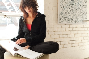 Reading (Image Credit: lululemon athletica)