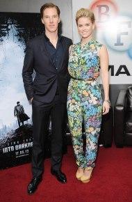 Benedict Cumberbatch and Alice Eve attend a footage screening of STAR TREK: INTO DARKNESS (Image Credit: Stuart Wilson/ImageNet)