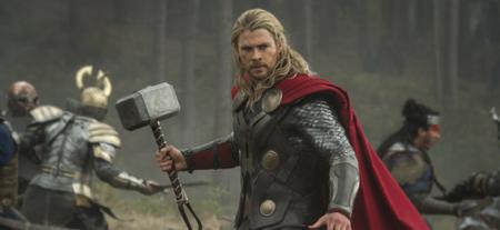 Chris Hemsworth as Thor in THOR: THE DARK WORLD (Image Credit: Marvel)