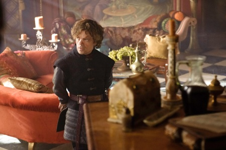 Peter Dinklage as Tyrion Lannister in GAME OF THRONES (Image Credit: Helen Sloan/HBO)
