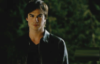 Ian Somerhalder as Damon Salvatore in THE VAMPIRE DIARIES (Image Credit: The CW)