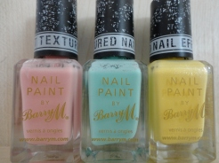 Barry M Textured Nail Varnish (Image Credit: Abigail Brown)