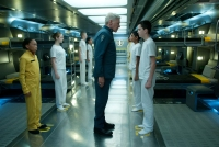 Harrison Ford and Asa Butterfield in ENDER'S GAME (Image Credit: Richard Foreman Jr. / Summit Entertainment)