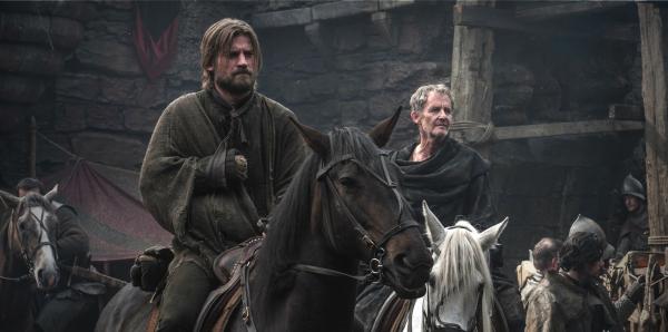 Nikolaj Coster-Waldau as Jamie Lannister in GAME OF THRONES (Image Credit: HBO)