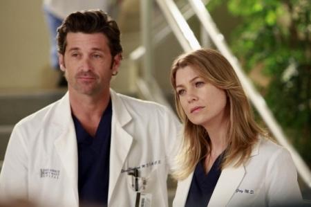 Patrick Dempsey as Derek Shepherd and Ellen Pompeo as Meredith Grey in GREY'S ANATOMY (Image Credit: ABC)
