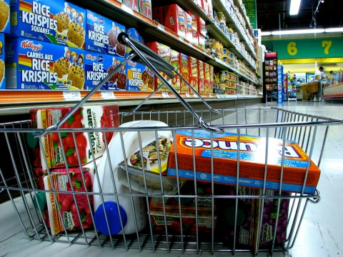 Grocery Shopping (Image Credit: Matt MacGillivray)