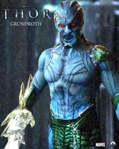 Joseph Gatt as Frost Giant Grundroth in THOR (Image Credit: Marvel)